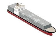 3D_Containerschiff